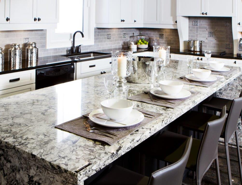 Kitchen Counters The Possible Materials Cuisines Verdun