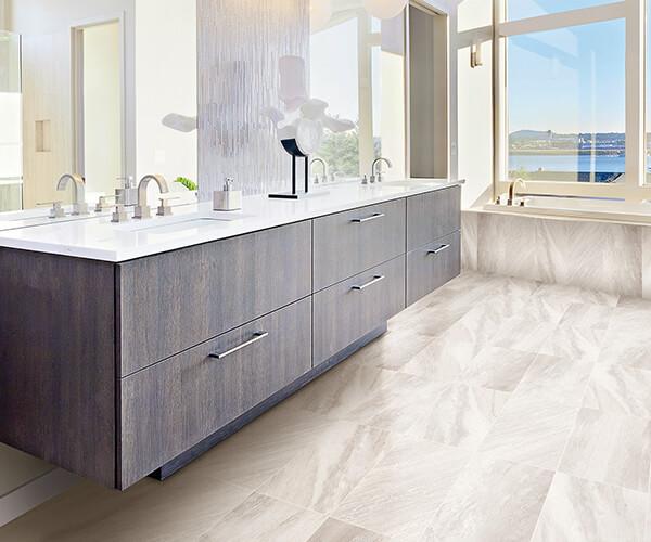 Bathroom Counters And Storage Cuisines Verdun Bathroom Renovation