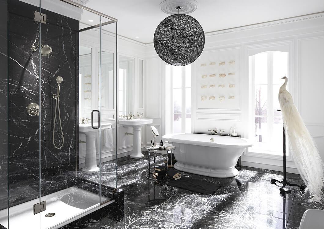 Salle de bain classique ou contemporaine | Cuisines Verdun