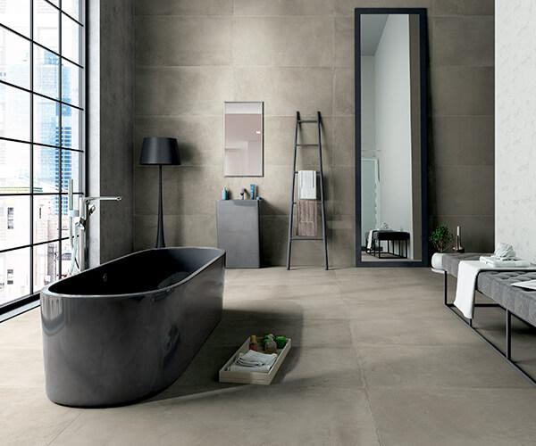Salle de bain contemporaine | Cuisines Verdun